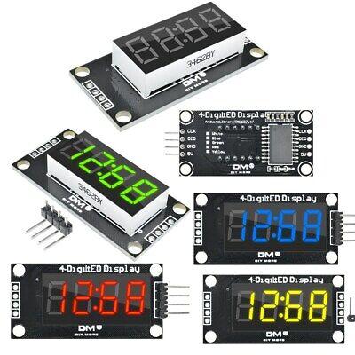 0.36 Inch 7-segment 4digit Led Display Tm1637 Clock Digital Tube Module 5 Color