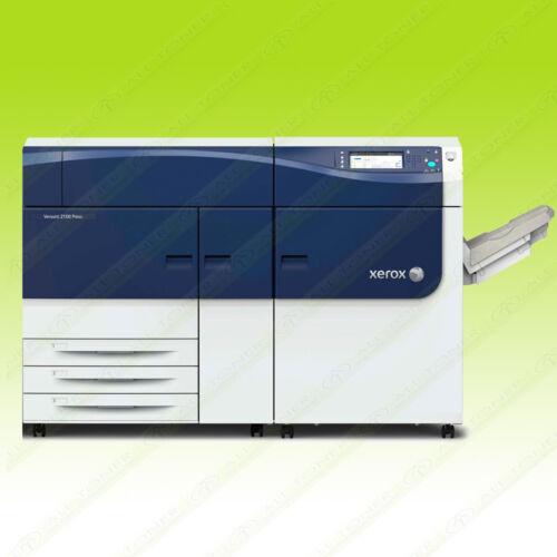 Xerox Versant 2100 Press Color Commercial Printer Copier Scanner Fiery 100 PPM