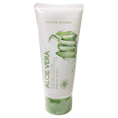 Nature Republic Soothing & Moisture Aloe Vera Foam Cleanser Renewal 150ml
