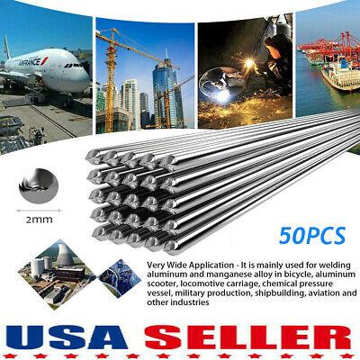 2050pcs Low Temperature Aluminum Welding Solder Wire Flux Cored Brazing Rods Us