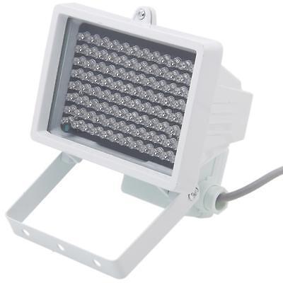 96LED 12V Night Vision IR Infrared Illuminator Light Lamp White for CCTV Camera