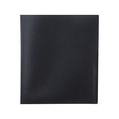 Staples Letter Textured Cover Presentation Book Black Each 20642cc13682