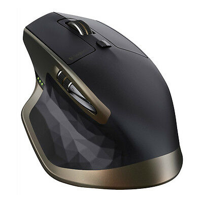 Logitech Mx Master Wireless Mouse With Unifying Usb Receiver Bluetooth