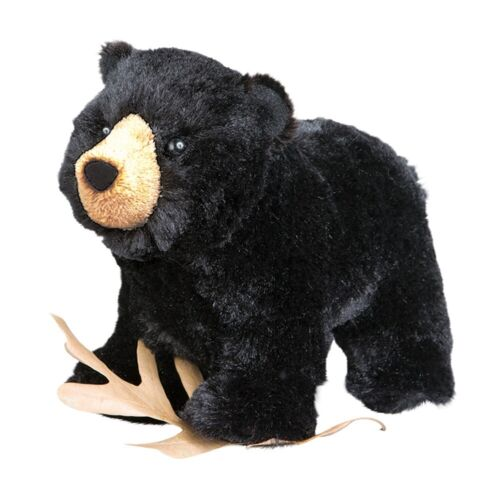 MORLEY the Plush BLACK BEAR Stuffed Animal - by Douglas Cuddle Toys - #4002