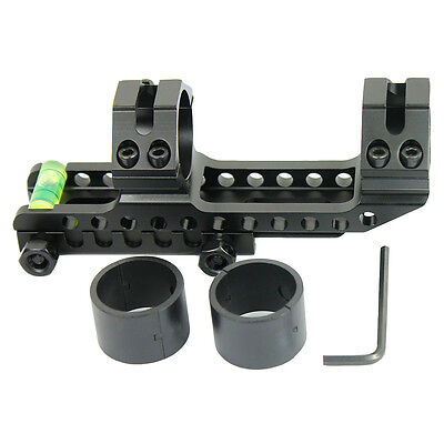 Pepr Cantilever 1  To 30Mm Rifle Scope Mount W  Bubble Level For Picatinny Rails