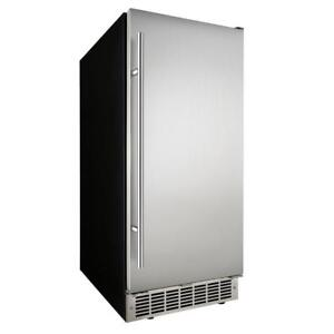 "15"" STAINLESS STEEL BUILT-IN ICE MAKER---CHEAPEST PRICE IN THE CITY!!"