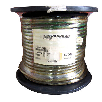 Eaton Weatherhead H29008-500r Synthetic Rubber Crimped Hydraulic Hose 58 X 500