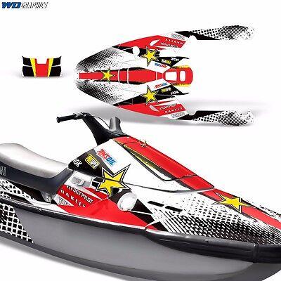 Decal Graphic Kit Yamaha Ski Wrap Jetski Waverunner Parts Wave Runner 3 91-96 RS