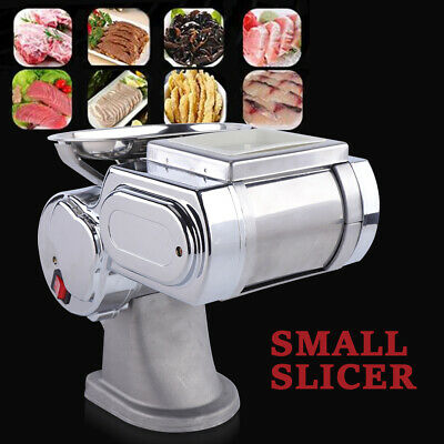 Commercial Stainless Steel Meat Slicer Cutter Cutting Machine Restaurants Use Us