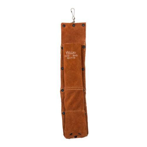 Leather Welding Rod Holder / Electrode Bag - Up To 5 lb Capacity