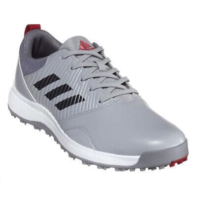 Nuevo Adidas Hombre CP Traxion Sl sin Tacos Zapatos de Golf Onix / Plata/Gris -
