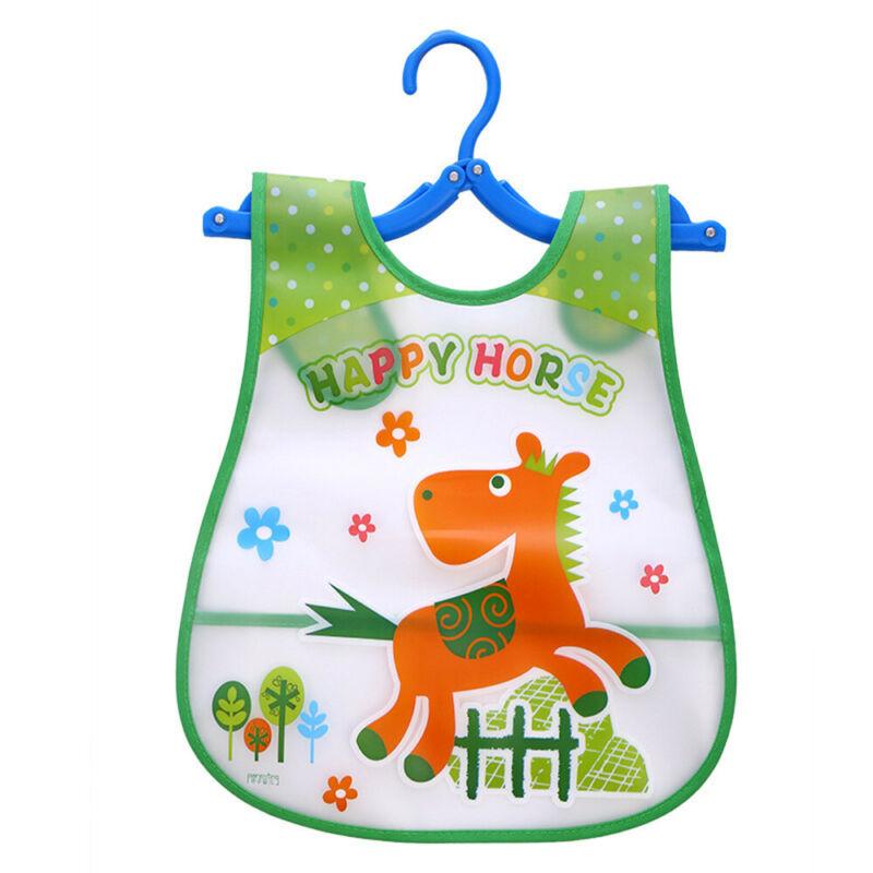 Newborn Cute Kids Bibs Baby Soft Cartoon Bib Toddler Waterproof Saliva Dripping J