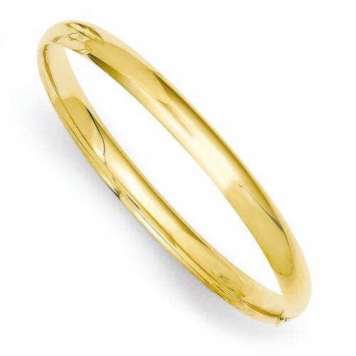 14k solide or jaune bébé Side cross bracelet