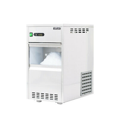 13 In. Air Cooled Commercial Stainless Steel Flake Ice Maker 44lb.