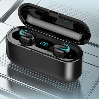 Q32 Auriculares Bluetooth 5.0 TWS Inalambricos 5D Con Caja De Carga Cascos y Mic