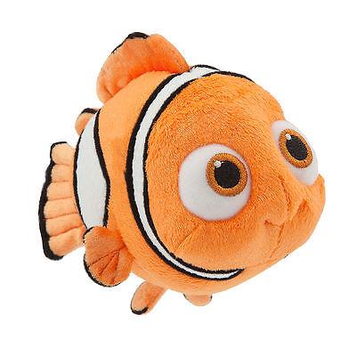 "Disney Store Authentic Pixar Finding Dory Nemo Plush 7"" Stuffed Animal New"