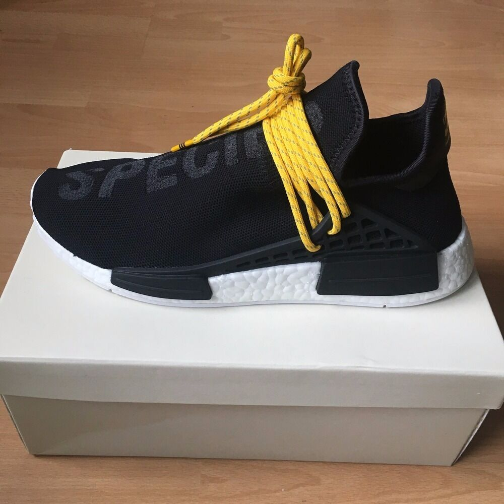 UA Cheap NMD Human Race Green White Black Sneakers on Sale
