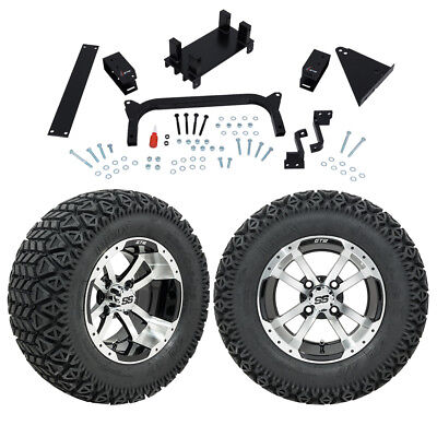 "GTW 5"" Yamaha G29 Drive Golf Cart Lift Kit Combo With A/T Tires and Wheels"
