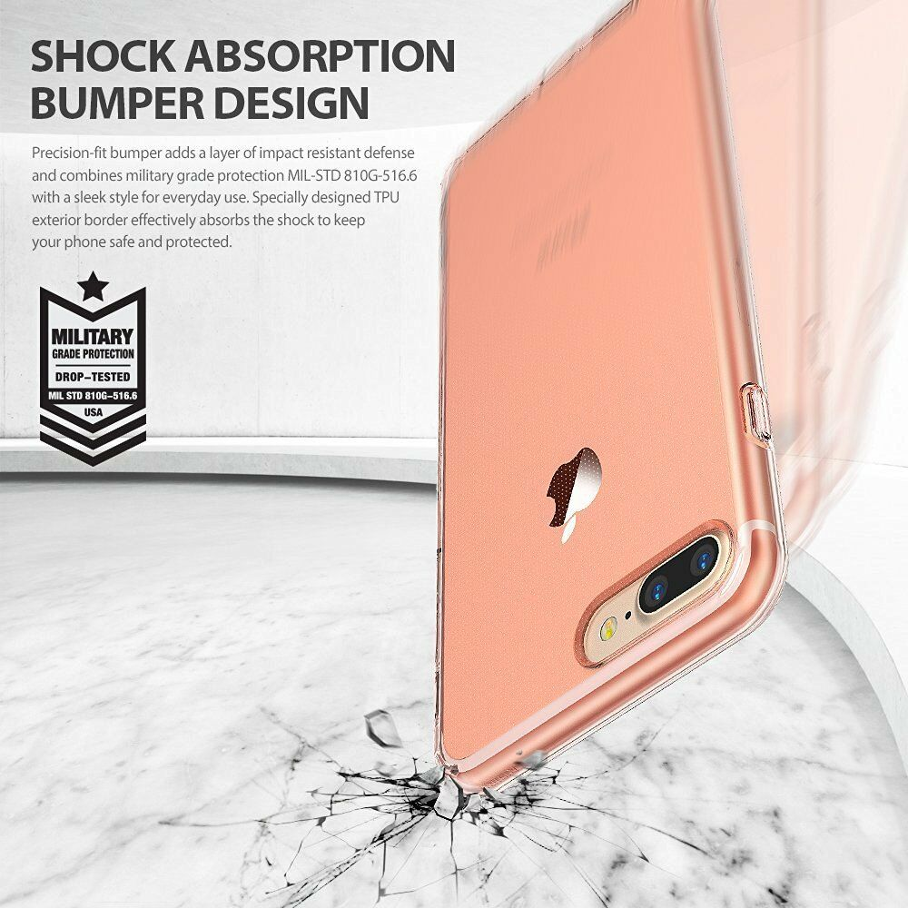 For iPhone 8 / 8 Plus | Ringke [AIR] Ultimate Lightweight Protective Cover Case