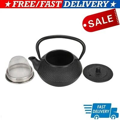 Iron Kettle Strainer Kettle with Strainer Fine workmanship for Home Tea Lovers
