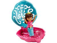 Dora the Explorer Mermaid, Dora and Friends Dive & Splash Mermaid, Zuru Robo Mermaid, Mermaid Bubble