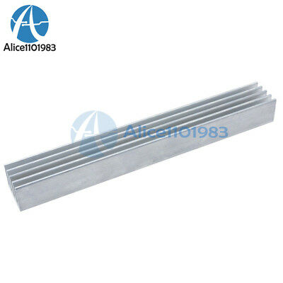 Led Heat Sink Silver-white 150x19.7x15.6mm Aluminum