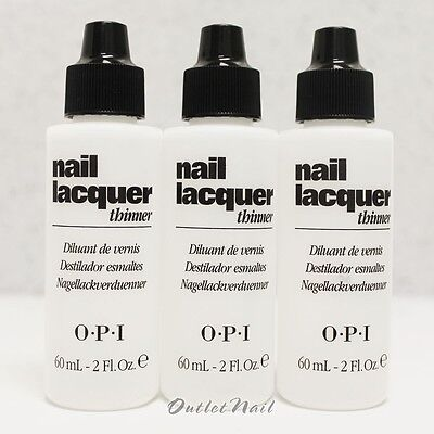 LOT 3 OPI Nail Polish Lacquer Thinner 60 mL - 2 fl oz NTT01 >> SHIP 24H for sale  Shipping to Canada