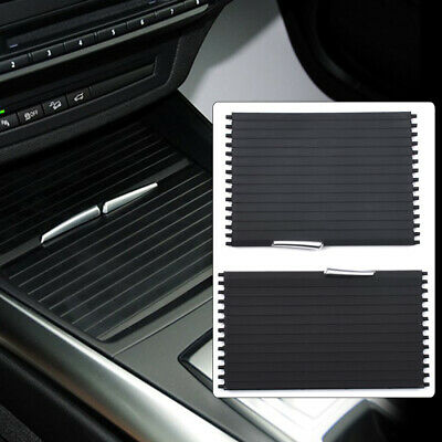 Black Center Console Roller Blind Cover For BMW X5 X6 E70 E71 BEST (Best Quality Roller Blinds)