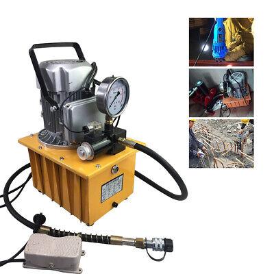 Electric Hydraulic Pump Oil Pressure Pedal W Oil Pressure Pump Solenoid Valve