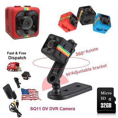 1080P Full HD Tiny Hidden DV DVR Camera CCTV Nanny Dash Cam IR Night Vision