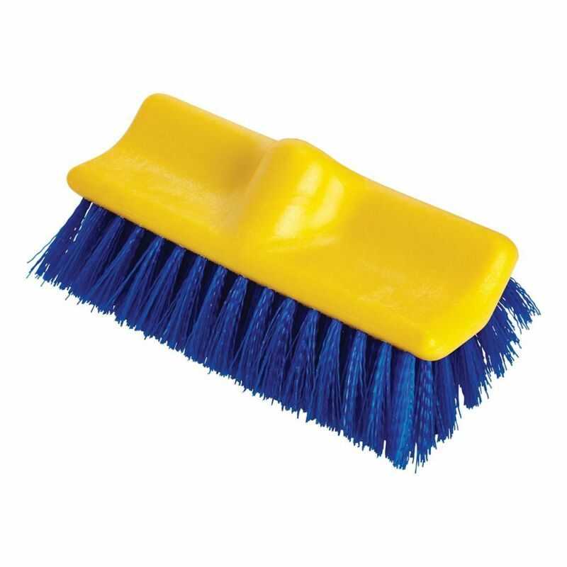 "Rubbermaid FG633700 Poly Bi-Level 10"" Floor Scrub Brush"