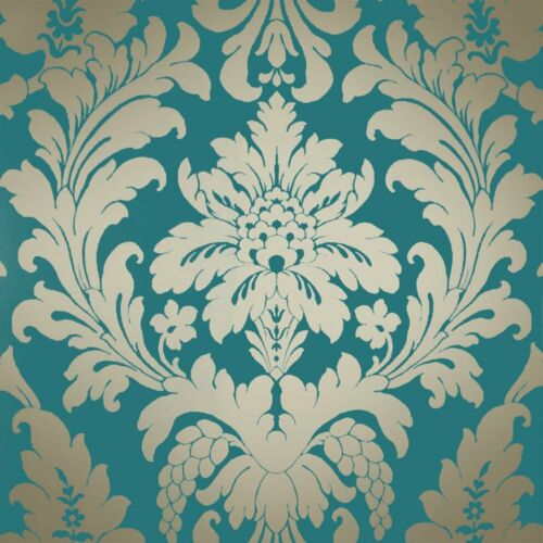 Go Wallpaper Ltd Designed To Add Character Any Room Arthouse Bari Damask Champagne Glitter