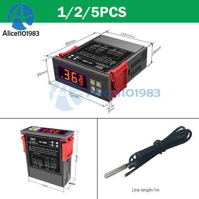 Stc-1000 Digital Temperature Controller Temp Sensor Thermostat Control 220v