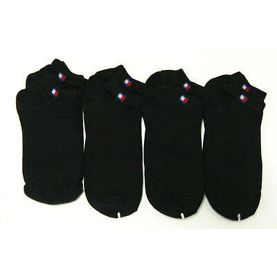 KOREA PRODUCT 8 Pairs Men Cotton Low Cut Ankle Socks Black Athletic Casual
