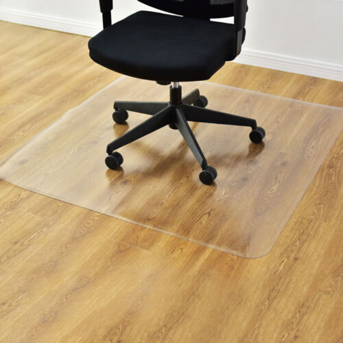 """47"""" x 47"""" PVC Chair Floor Mat Home Office Protector For Hard"""
