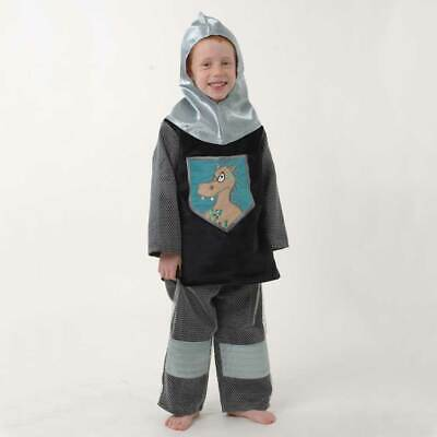 """Lovely Lea SHIRT & Hose  """"DRACHEN RITTER"""" Kinderkostüm Kettenhemd Gr - Kinder Kettenhemd Kostüm"""