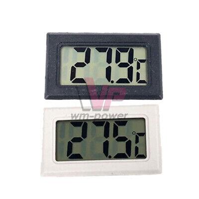 Mini Led Digital Thermometer Temperature Heating Cooling Tester Blackwhite