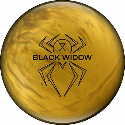 New 15lb Hammer Black Widow Gold Bowling Ball Newest