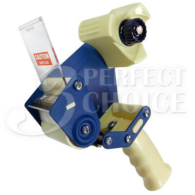 2 Tape Dispenser Gun Packaging Metal Frame Cutter Professional Grade Heavy Duty