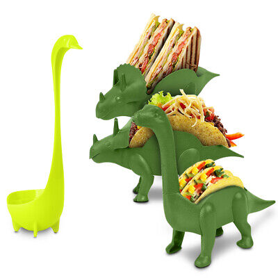 Taco Holder Ultimate Prehistoric Taco Stand Dinosaur Parties Plate - Taco Holder Plate