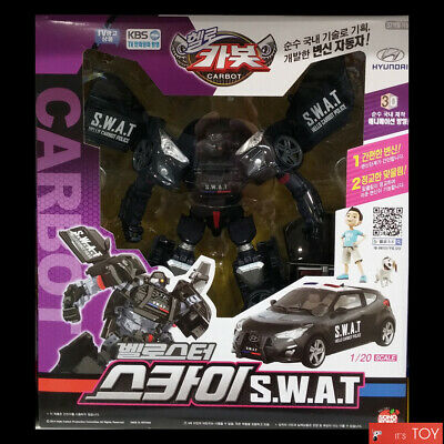 Hello Carbot Veloster SKY S.W.A.T Transformers Transforming Robot figure Car Toy