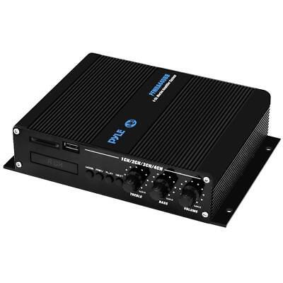 4-Ch. Bluetooth Marine Amplifier | Weather Resistant Audio Amp System 400 Watt