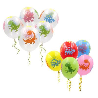 Dinosaur Latex Balloons, Jurassic Park Dinosaur Party Theme Decoration Supplies - Dinosaur Birthday Party Supplies