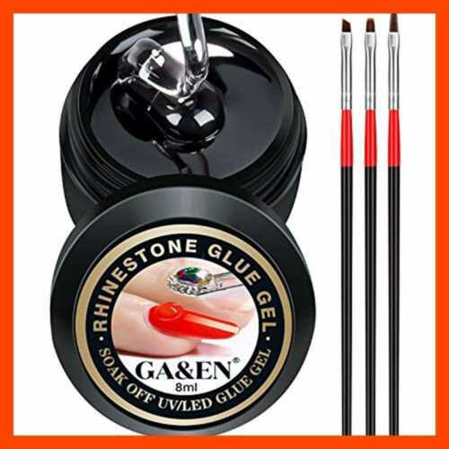 Nail Art 8ml Rhinestone Glue Gel Adhesive Resin Gem Jewelry