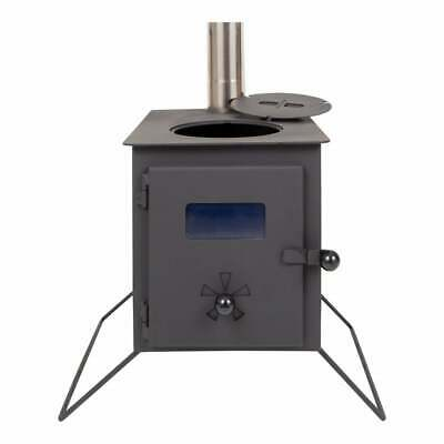 The Wood burning Stove (Stove & Flue)