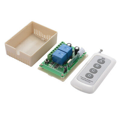 DC 12V 1000m 2 Channels Wireless Remote Control Switch Relay RF Module LD940