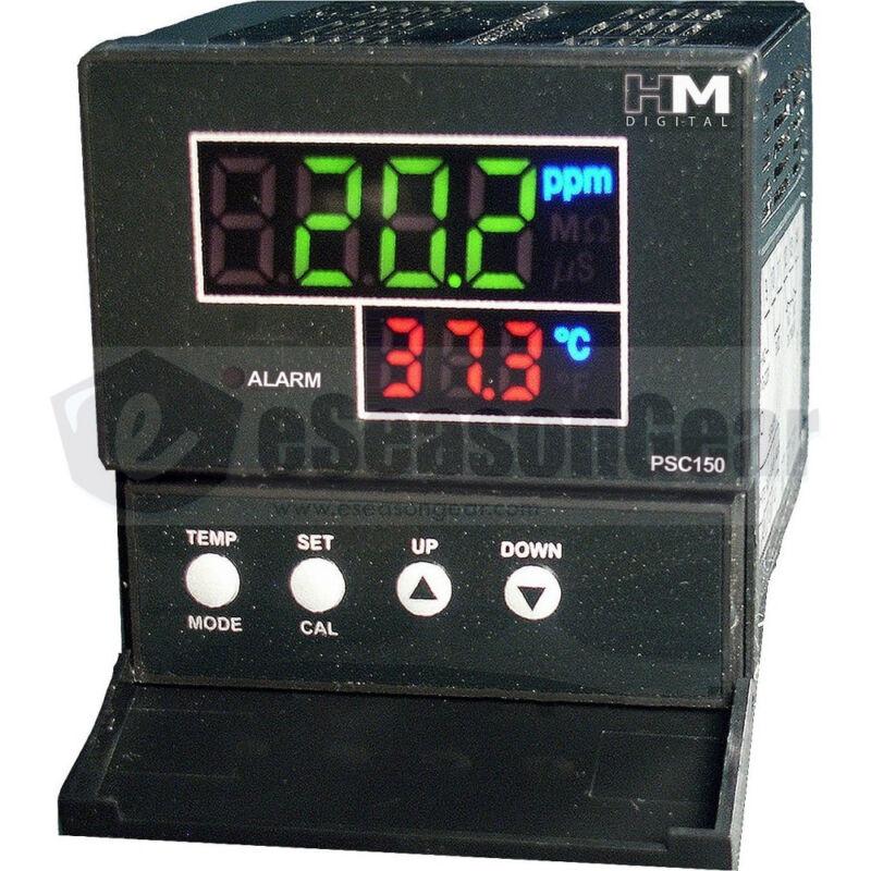 HM Digital PSC-150 Panel Mount EC/TDS PPM Controller, Sensor Inclided, 110V/220V