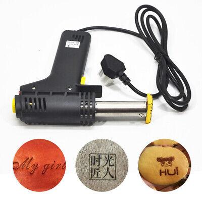 Manual Hot Foil Stamping DIY Logo Heating Embossing Stamp Machine Handheld