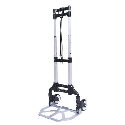 Folding trolley foldable hand truck cart sack luggage trolley capacity 60 kg
