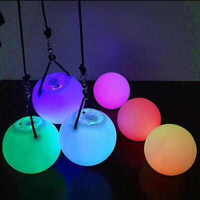 Ball Light Up Handball Acrobatics POI Thrown Balls For Belly Dance Hand Prop (Light Up Bekleidung)